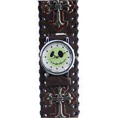 Ghost Doll Dial Punk Style Quartz Watch