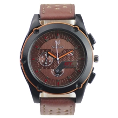 Valia 8280 Steel Batons Semi-steel Quartz Watch