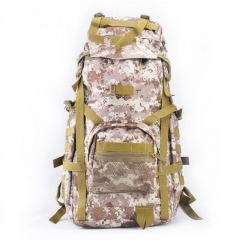 Outdoor 60L Tactical Backpack Hiking Shoulder Passager Trekking Bag Military Travel Backpack